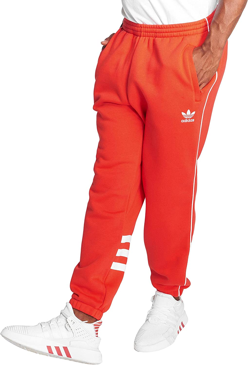 Adidas Hosen – Auth Sweat rot wei Gre  S (Small)