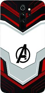 sharpeseller mi redmi note 8 pro avenger logo printed soft designer mobile back cover