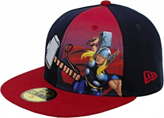 marvel fitted caps new era