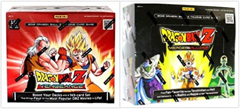 Dragon Ball Z Collectible Card Game Vengeance and Heroes and Villians Booster Box Bundle, 1 of Each