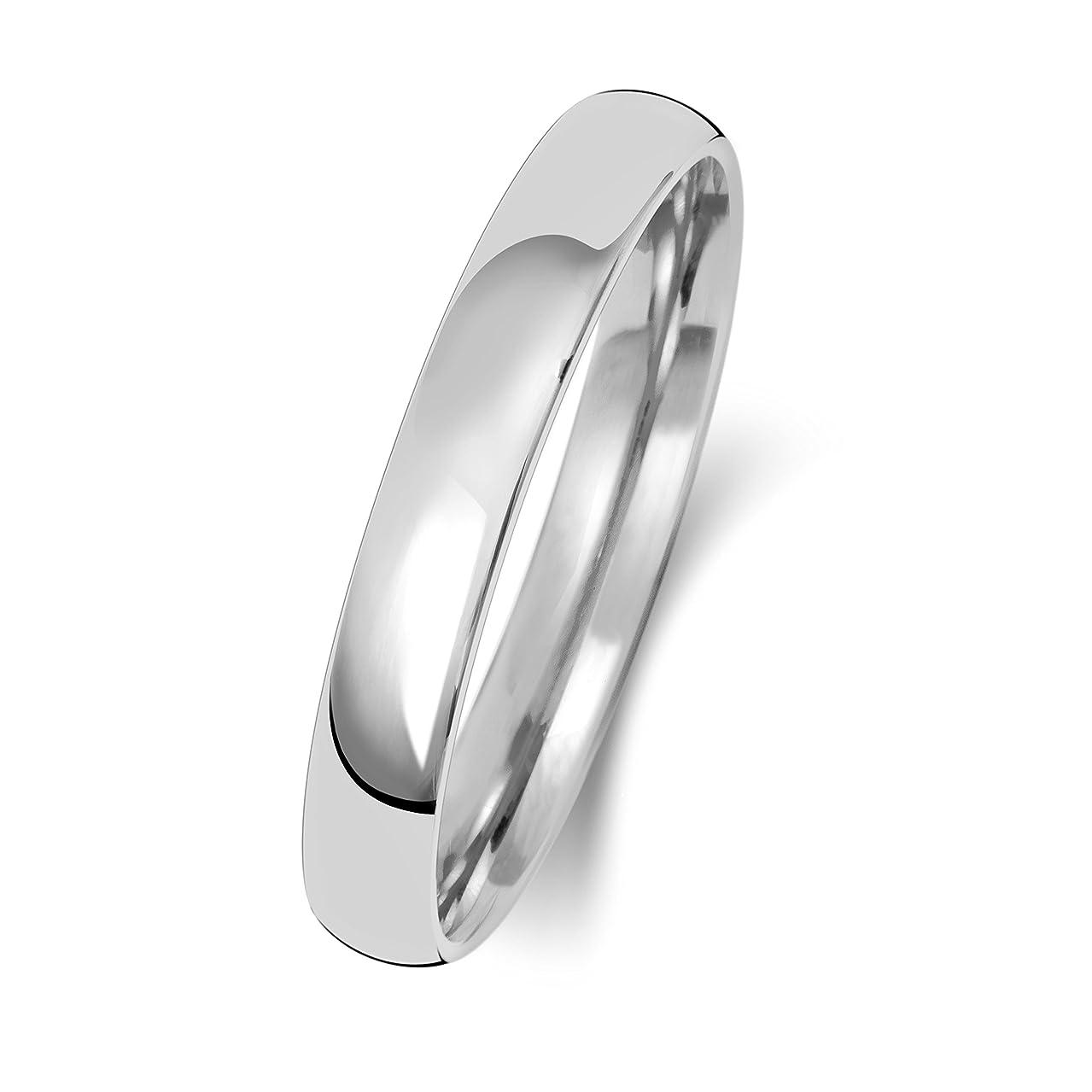 息切れ繕う比較的プラチナ Pt950 3mm 男性 女性 ウェディングバンド マリッジリング(結婚指輪) WQS15103PT950
