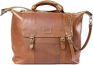 Dust Leather Travel Bag - DU151 (Brown)