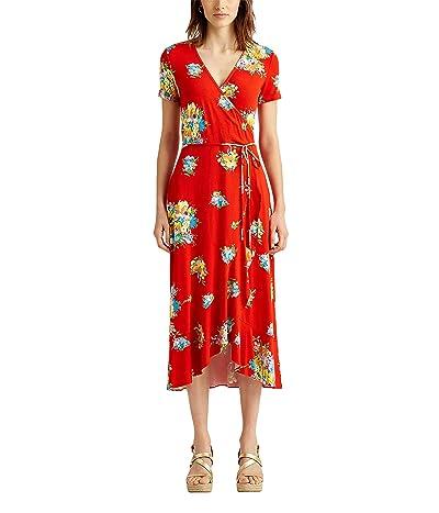 LAUREN Ralph Lauren Floral Stretch Jersey Dress