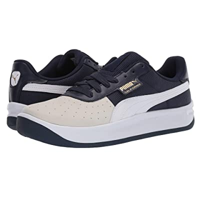 PUMA California (Glacier Gray/Peacoat/Puma White) Classic Shoes