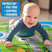 Ozoy Double Sided Water Proof Baby Mat Carpet Baby Crawl Play Mat Kids Infant Crawling Play Mat Carpet Baby Gym Water Resistant Baby Play & Crawl Mat(Large Size - 6 Feet X 6.5 Feet)