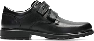 Senior Boys Bootleg by Clarks Leather Lace Up Ankle Boots Maine Top BL