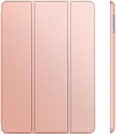 JETech Hülle Compatible für iPad (9,7 Zoll, Modell 2018/2017, 6. / 5. Generation), Intelligent Schutzhülle mit Auto Schlafen/Wachen, Roségold