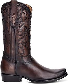 Cuadra Men`s Western Boot in Genuine Leather Brown
