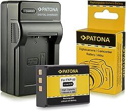 Cargador + Batería NP-85 NP85 para Fuji Fujifilm Finepix F305 | SL240 | SL260 | SL280 | SL300 | SL305 | SL1000 y mucho más… [ Li-ion; 1700mah; 3.7V ]
