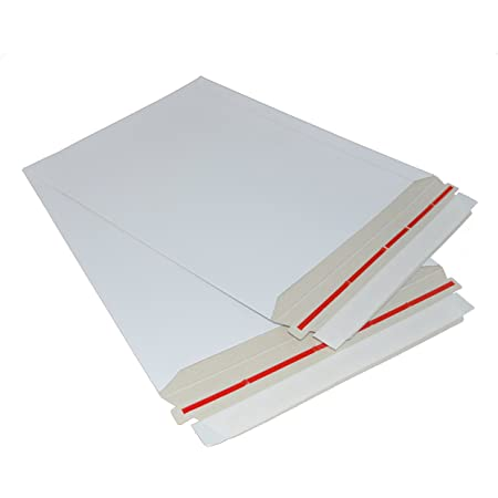 Envelopes That Expand Up to 1/'/' Capacity Tamper Evident Security 15 X 12.5 X 1 Built-in Corner Protection| 100 Per Case Peel /& Seal Closure Stayflats Gusset Mailers