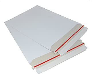 100-9x11.5 Rigid Photo MAILERS ENVELOPES Flat Mailer by ValueMailers