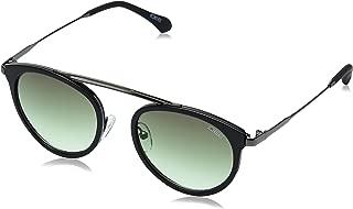 IDEE Gradient Round Women's Sunglasses - (IDS2392C2SG 49 Green Gradient Color)