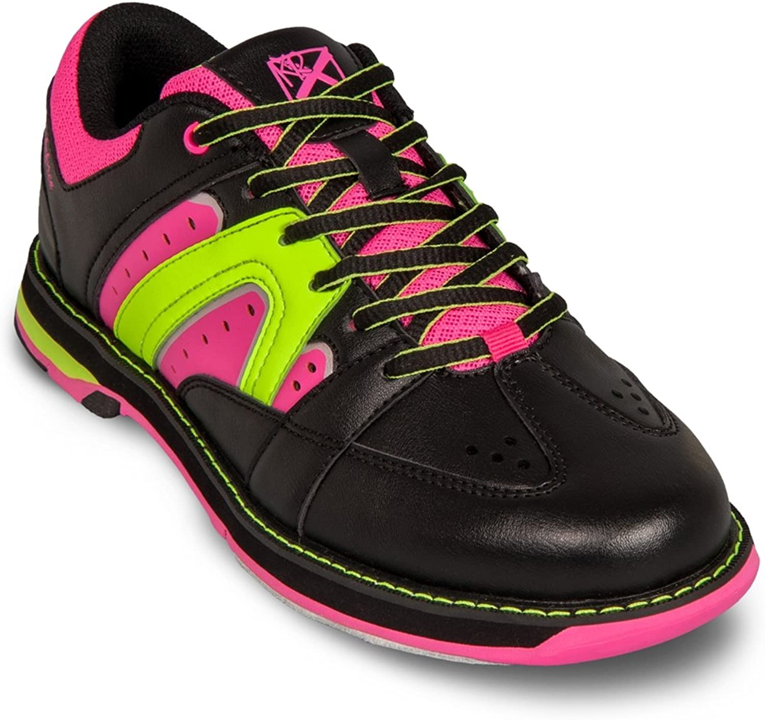 KR Strikeforce Womens Quest Bowling shoes- Black Pink Yellow