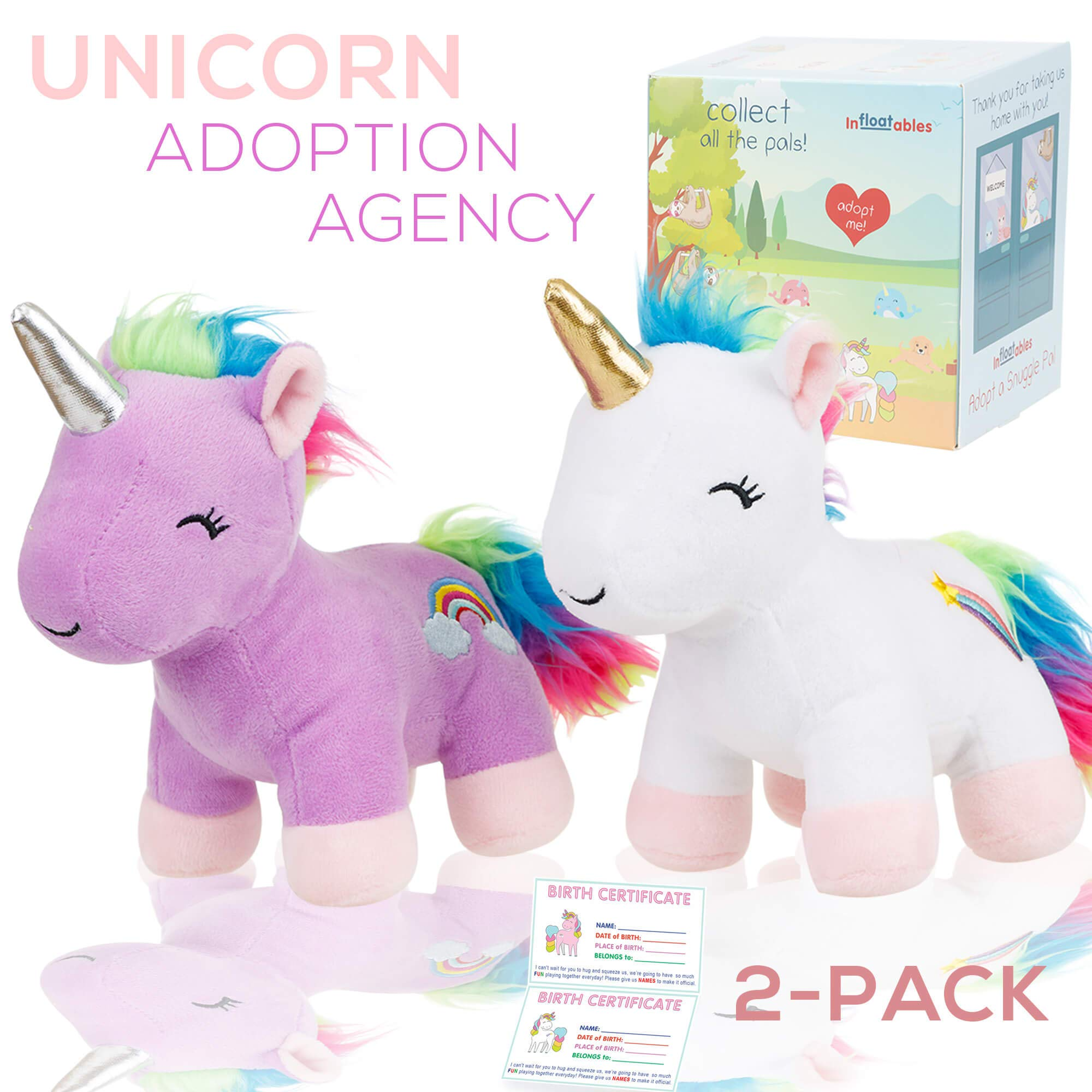 Adopt A Unicorn Stuffed Animal Our Ado Buy Online In Hong Kong At Desertcart