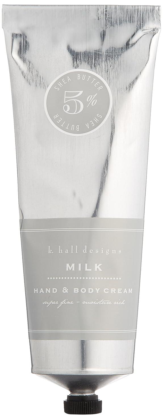 救出誕生信条k.hall designs(ケイホール デザインズ) ハンド&ボディクリーム ミルク