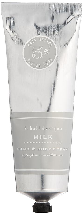 位置する提出するアデレードk.hall designs(ケイホール デザインズ) ハンド&ボディクリーム ミルク