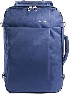 Tucano Tugò Azul Mochila - Mochila para portátiles y netbooks (Azul, 43,9 cm (17.3
