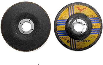 Aluminum Grinding Wheel 4 1/2 for Aluminum Copper Non-Ferrous Metals 10 Pack (Not Load While Grinding)
