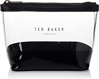 Ted Baker Toiletry Bag for Women- Clear/Black