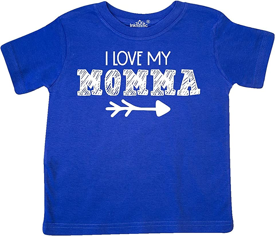 I Love My Momma- Arrow Toddler T-Shirt