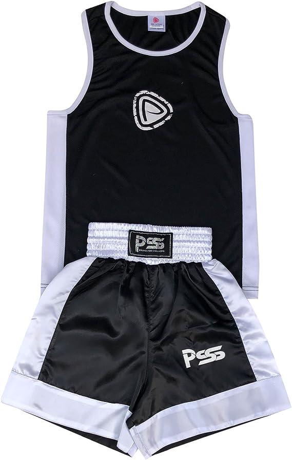 PRIME - Uniforme de Boxeo para Niño de 2 Piezas Camisa y ...