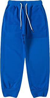 LAUSONS Pantalones Deportivos Niños Pantalón Largos Chándal Joggers