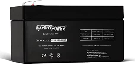 ExpertPower 12V 1.3 Amp Rechargeable Battery ( Not a Replacement for WP3-12)