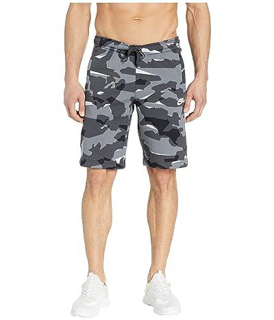 Nike NSW Club Camo BB Shorts (Cool Grey/Anthracite/White) Men