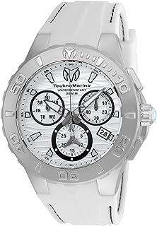 [テクノマリーン]TechnoMarine 腕時計 Cruise Medusa Chronograph White Dial Watch 115074 メンズ [並行輸入品]