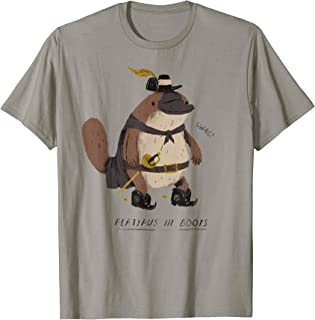 platypus in boots T-shirt / platypus tee!