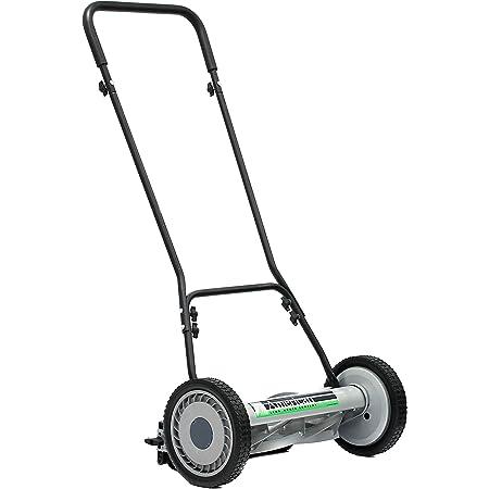 American Lawn Mower Company 1815-18 18-Inch 5-Blade Push Reel Lawn Mower, 18-Inch, 5-Blade, Black