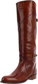 حذاء حريمي من FRYE برقبة لركوب الخيل من Dorado ناعم مصقول، 6. 5 M US