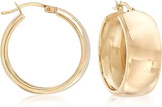 small gold hoop earrings canada