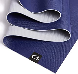 b'ROCK yoga mat - Great grip and support, 6P free PVC, super durable, easy cleaning and maintenance