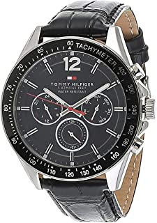 Tommy Hilfiger Watch for Men - Analog Leather Band - 1791117