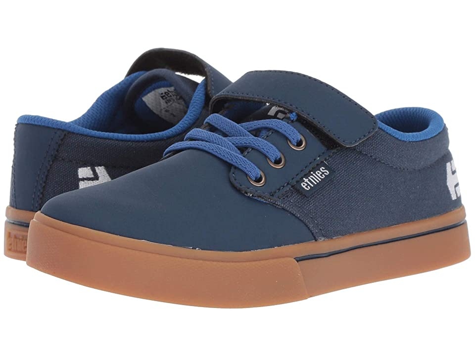 etnies Kids Jameson 2 V (Toddler/Little Kid/Big Kid) (Navy/Gum) Boy