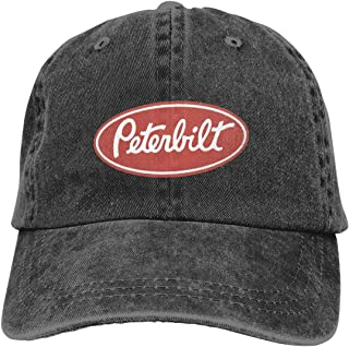 4cbe8ad4085c4 SIOjz0zj Hats Peterbilt Trucks Denim Fabric Cap Adjustable Hat Cowboy Hat  Baseball Cap
