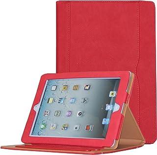 JYtrend iPad 2/ iPad 3/ iPad 4 Case, Multi-Angle Viewing Stand Leather Folio Smart Cover with Pocket, Auto Wake Up/Sleep f...