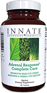 Sponsored Ad - INNATE Response Formulas, Adrenal Response Complete Care, Herbal Supplement, Vegetarian, Non-GMO, 90 tablet...