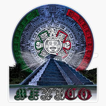 Huitzilopochtli Decal Vinyl Bumper Sticker 5 Aztec Art