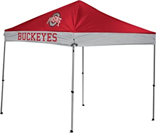 NCAA Instant Pop-Up Canopy Tent with Carrying Case, 9x9 (All Team Options)