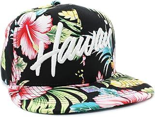 86a87b3860aef Embroidered Aloha, Hawaii Tropical Hawaiian Print Snapback Cap