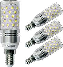 Sagel E14 LED Corn Bulbs 12W, 100W Incandescent Bulbs Equivalent, 6000K Cool White Candelabra E14 SES Bulbs, Non-Dimmable,...