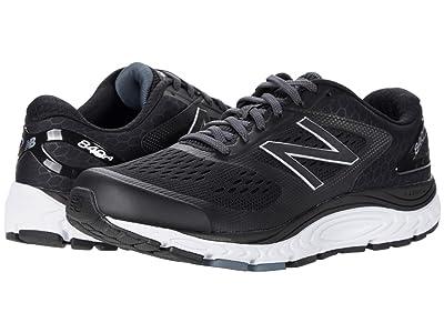 New Balance 840v4 (Black/White) Men