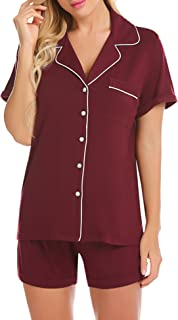 Best button down short sleeve pajamas Reviews