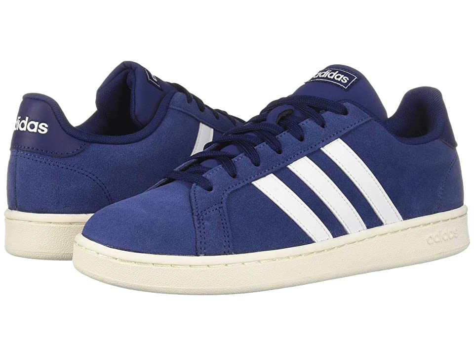 adidas Grand Court (Dark Blue/Footwear White/Cloud White) Men