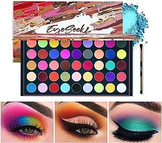 EYESEEK Matte Eyeshadow Palette 45 Shades Colorful Eyeshadow Pallet High Pigmented No Shimmer All Matte Smooth Powder Eye shadow Blendable Long Lasting Waterproof Makeup Palette #Neon