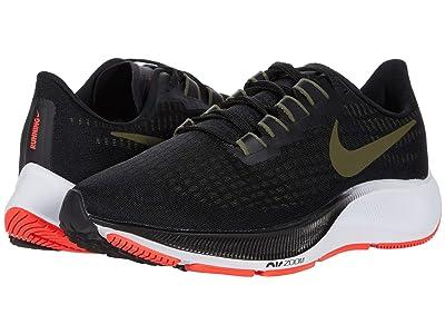 Nike Air Zoom Pegasus 37 (Black/Medium Olive/Olive Aura) Men