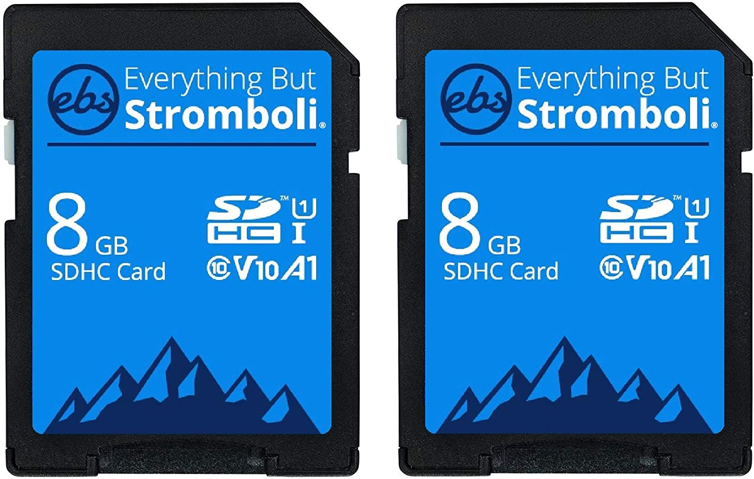 Everything But Stromboli 2 Pack 8GB SD Card for Browning Trail Camera Recon Force, Strike Force, Defender, Spec Ops, Patriot, Dark Ops Game Cam SDHC Memory Cards