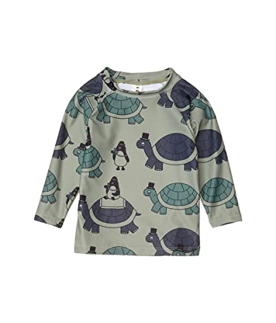 HUXBABY Tour Rashguard (Infant/Toddler) (Turtle) Boy